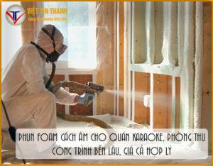 Thi công phun pu foam cho nhà ở hiệu quả nhất hiện nay