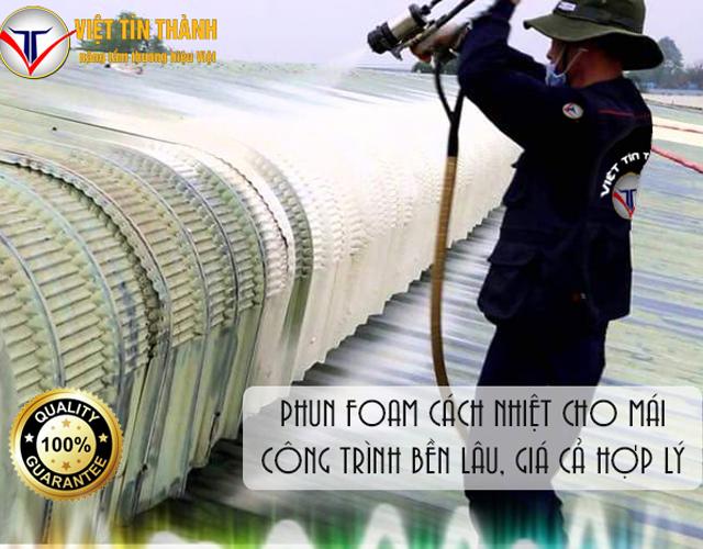 Phun Pu Foam cách nhiệt uy tín