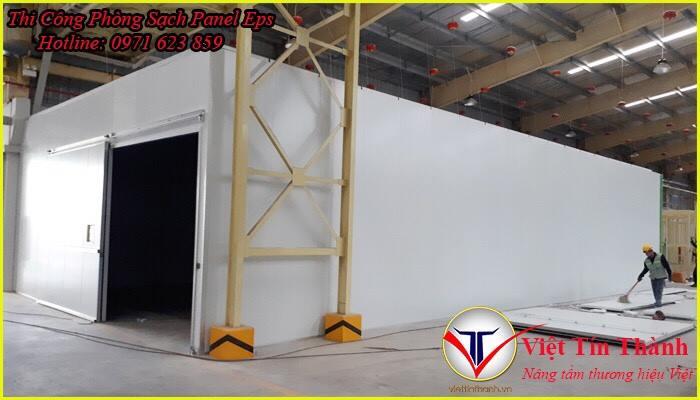 thi công panel lắp ráp nhà xưởng