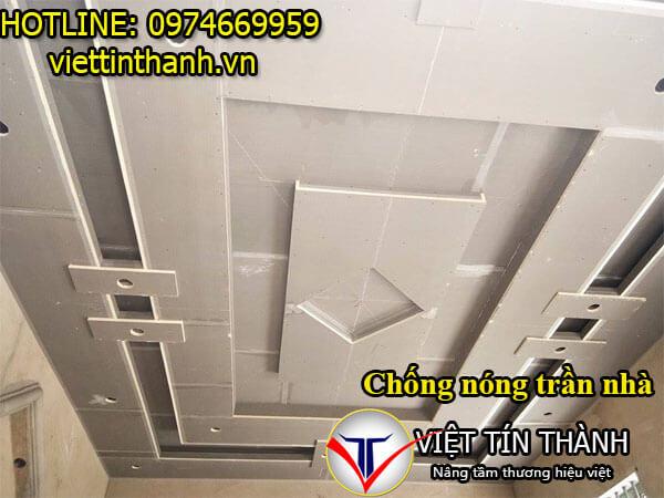 Thi công chống nóng trần nhà