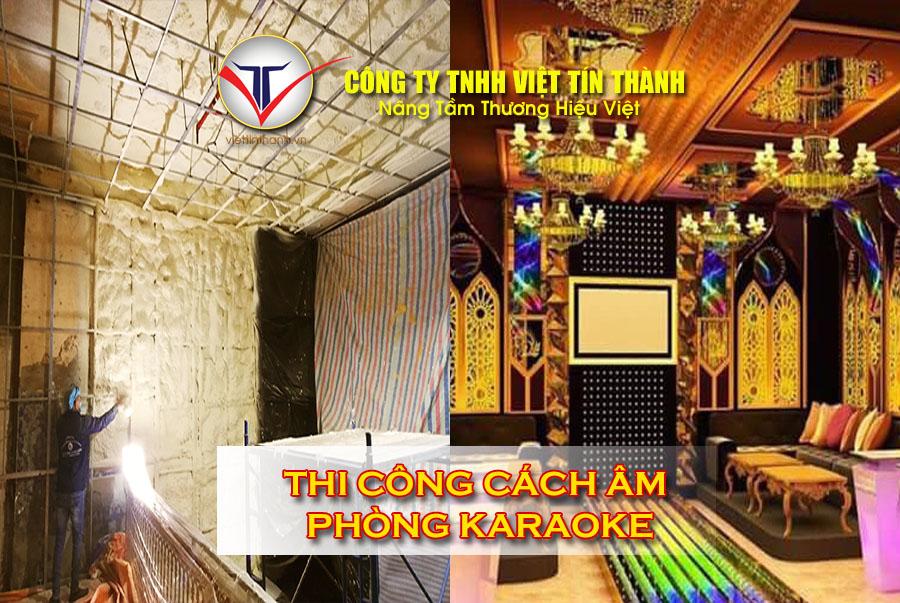 Thi công phun Pu Foam cách âm phòng karaoke cực hiệu quả
