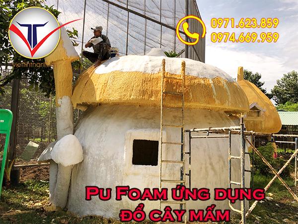 Ứng dụng của Pu Foam cho khu vui chơi giải trí