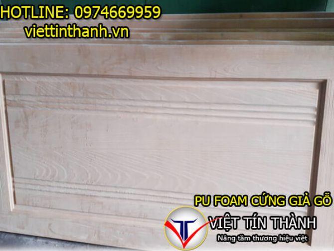 Nguyên liệu Pu Foam giả gỗ
