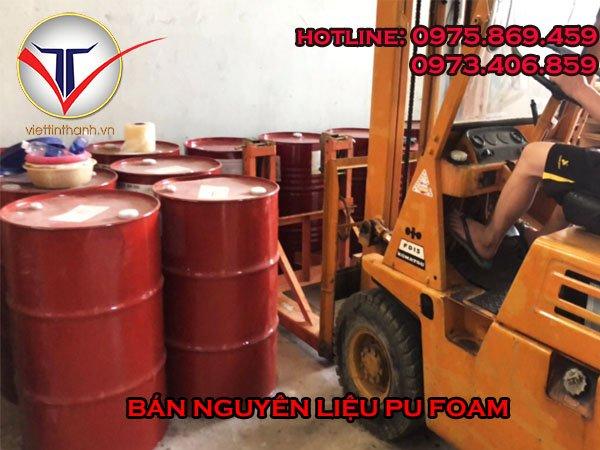 Nguyên liệu Pu Foam 2 thành phần