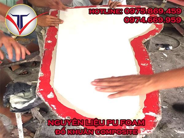 Nguyên liệu Pu Foam đổ khuân composite