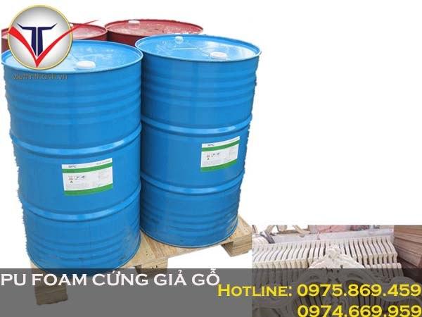 Nguyên liệu Pu Foam cứng giả gỗ