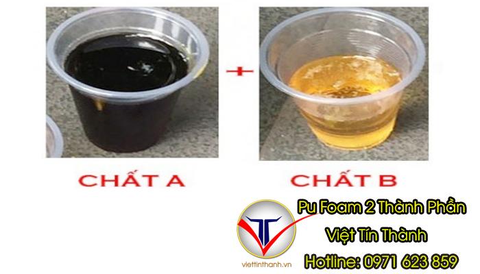 nguyên liệu pu foam 2 thành phần iso-polyol