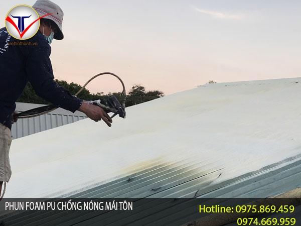 Phun Foam chống nóng
