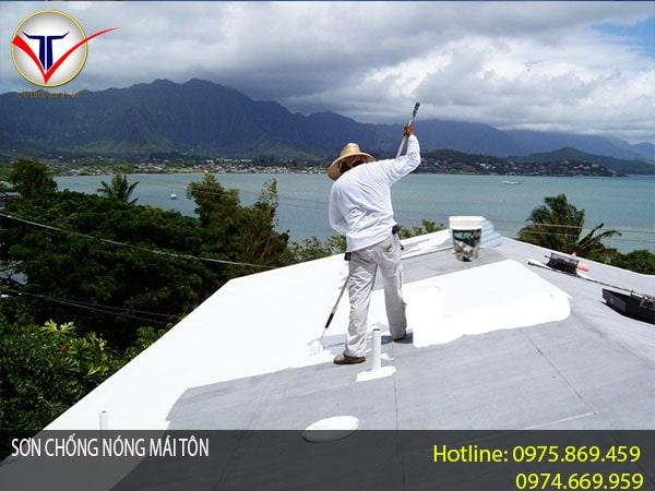 sơn chống nóng mái tôn