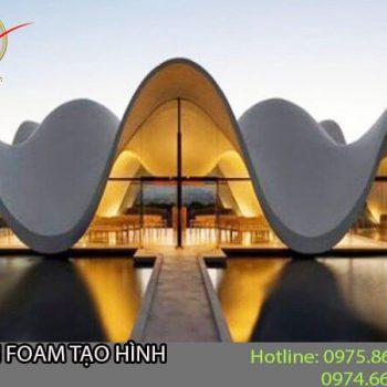 Phun Foam tạo mô hình