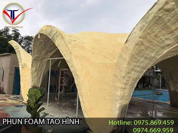 Phun Foam tạo hình